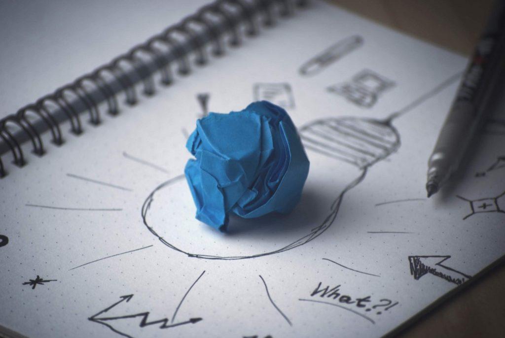 Disegno idea lampadina