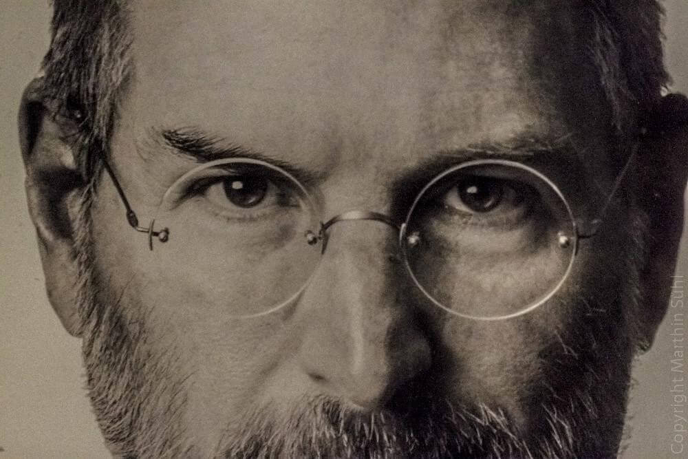 Steve Jobs inquadratura