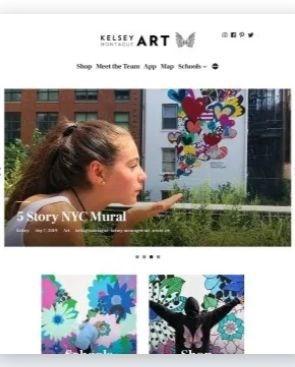 template di wordpress per artisti